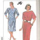 Simplicity 9097 (1989) Pattern Dress in Two Lengths Size 14-20 (Plus)  Uncut