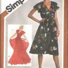 Simplicity 9870 (1980) Pattern Pullover Lined Dress in Two Lengths  Size 12  Uncut