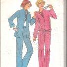 Simplicity 8200 (1977) Vintage Pattern Pants Unlined Jacket Blouson Jacket Size 10 Cut