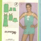 Simplicity 9460 (1980) Pullover Drawstring Sundress Top Shorts Pattern Size 10  Uncut