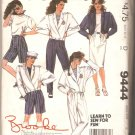 McCalls 9444 Brooke Shields Collection Jacket Top Skirt Pants Shorts Pattern Size 6 Uncut