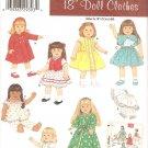 Simplicity 4347 (2005) Vintage Reprint Dress Blouse Skirt Pajamas Robe Coat Hat Pattern UNCUT