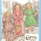Simplicity 9354 (1979) Girls Long Short Dress Ruffle Bodice Hem Sleeves Pattern Size 3 Part Cut
