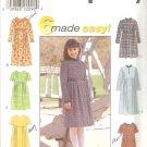 Simplicity 8354 (1998) Girls Dress 6 Style Variations Pattern Size 12 14 UNCUT