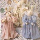 "McCalls 2063 (1999) 36"" Angel Bunnies Pattern UNCUT"