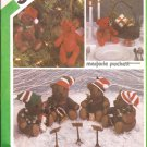 Simplicity 6569 (1984) Small Large Stuffed Bears Moveable Arms Legs Pattern UNCUT