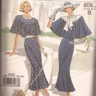 Simplicity 9360 (1988) Vintage Look Dress Capelet Pattern Size 14 16 18 20 UNCUT