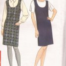 Simplicity 7275 (1996) Round Neck Sleeveless Jumper Pattern Size 6 8 10 12 14 16 18 20 22 24 UNCUT