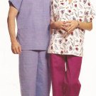 McCalls 5350 (2007) Misses Mens Scrubs Pull-On Pants Top Pattern Size Small Medium Large UNCUT