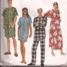 McCalls 8530 (1996) Nightshirt Nightgown Pajama Pattern Size Small Medium Large UNCUT