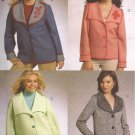 McCalls 5821 (2009) 10 20 30 Minute Jackets Collar Trim Variations Pattern Size 8 10 12 14 16 UNCUT