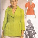 McCalls 5594 (2008) Lined Jacket Sleeve Variations Pattern Size 6 8 1012 14 UNCUT