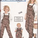 "Simplicity 9920 (2001) Daisy Kingdom Misses Overalls 18"" Doll Romper Pattern UNCUT"