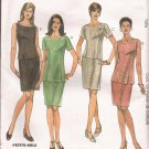 McCalls 2121 (1999) Princess Seam Top Slits Slim Skirt Pattern Plus Size 18 20 22 UNCUT