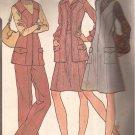McCalls 3772 (1973) Vintage Princess Front Zip Jumper Dress Vest Skirt Pants Pattern Size 14 CUT