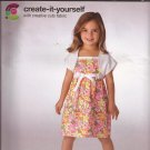 Simplicity 2432 Childs Square Neck Sundress Shrug Pattern Size 3 4 5 6 7 8 UNCUT