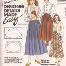 McCalls 5035 (1990) Designer Details 2 Hour Pull-on Skirt Pattern Size16 UNCUT