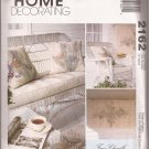 McCalls 2162 (1999) Patterns Instructions for Faux Chenille Home Decor UNCUT