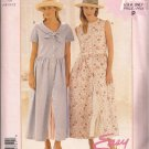 McCalls P275 (1996) Button Front  Dress Petticoat Pattern Size 6 8 10 12 UNCUT