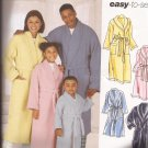 Simplicity 5931 (2002) Childs Teens Mens Womens Girls Boys Robe Belt Pattern Size XS S M L XL UNCUT