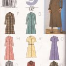 Butterick 3651 (2002) A-Line Dress Collar Sleeve Variations Pattern Size 12 14 16 CUT to 14