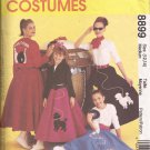 McCalls 8899 (1997) 50s Poodle Circle Skirt Jacket Top Scarf Pattern Size MEDIUM 12-14 CUT