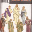 Simplicity 8108 Adult Easter Passion Play Costumes Toga Armor Roman Jesus Pattern Size XS S M L XL