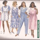 Butterick 3962 (1989) Maternity Top Jumpsuit Jumper Dress Pattern Size 8 10 12 CUT