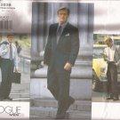 Vogue 2836 Mens Lined Suit Jacket Pants Pattern Size 38 40 42 UNCUT