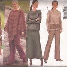 Butterick 6778 (2000) Kathy Ireland Petite Poncho Top Skirt Pants Pattern Size 22W 24W 26W UNCUT