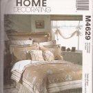 McCalls 4629 (2004) Pillow Case Sham Duvet Bedskirt Spread Window Pattern CUT