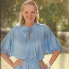 Butterick 6223 Peasant Elastic Waist Dolman Sleeves Top Blouse Pattern Size 6 8 10 12 14 16 18 UNCUT