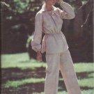 Butterick 6397 Collar Drawstring Neck Elastic Wrist Waist Tunic Pants Pattern Size 12 14 16 UNCUT