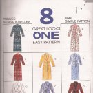 McCalls 7948 (1995) Misses Womens Mens Unisex Robe Pattern Size XL XXL UNCUT