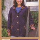 Quilted Closet Barn Blazer Jacket 109 (1997) Pattern Size 6 8 10 12 14, 16 18 20 22 24 UNCUT