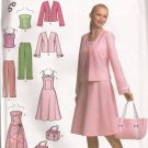 Simplicity 4694 (2004) Sun Dress Top Pants Jacket Bag Pattern Size 6 8 10 12 CUT