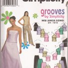 Simplicity 9775 (2001) Junior Girls Evening Prom Top Pants Skirt Pattern Size 11-12 13-14 15-16 CUT