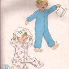 Simplicity 8693 (1978) Vintage Toddler Onesie Sleeper Pattern Size 1 UNCUT