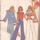 McCalls 3623 (1973) Vintage Miss Junior Petite Wide Leg Pants Shorts Halter Pattern Size 16 UNCUT