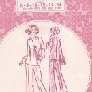 Patterns Pacifica 1016 Vintage Tunic Top Wide Leg Pants Pattern Size 6 8 10 12 14 16 UNCUT