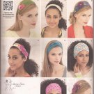 Simplicity 1791 Hair Accessories Head Band Bandana Pattern One Size UNCUT