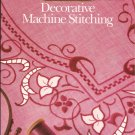 1990 Singer Decorative Machine Stitching Book