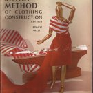 1966 Vintage Bishop Method of Clothing Construction Revised Book