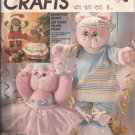 McCalls 2818 (1986) Stuffed Bear Doll Clothes Ballet Aerobic Dress Pants Shoes Hat Pattern UNCUT