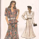 Vogue 9905 (1987) Top Shirt Blouse Flare Skirt Pattern Size8 10 12 UNCUT