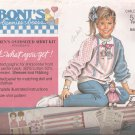 5105 (1988) Daisy Kingdom Girl Child Oversize Shirt Doll Kit Size 4 6 8 10 12