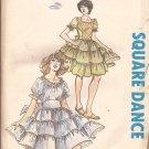 Authentic Patterns Inc 277 Square Dance Dress Size 12 14 16 UNCUT