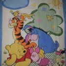 Winnie the Pooh Tigger Piglet Eyore Baby Child Blanket Quilt Top