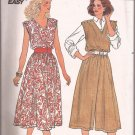 Butterick 3281 (1995) Dress Jumpsuit Elastic Waist Pattern Size 14 16 18 UNCUT