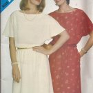 Butterick 3876 Elastic Waist Short Sleeve Dress Pattern Size 8 10 12 14 16 18 UNCUT